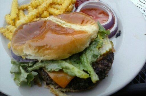 Vitage burger