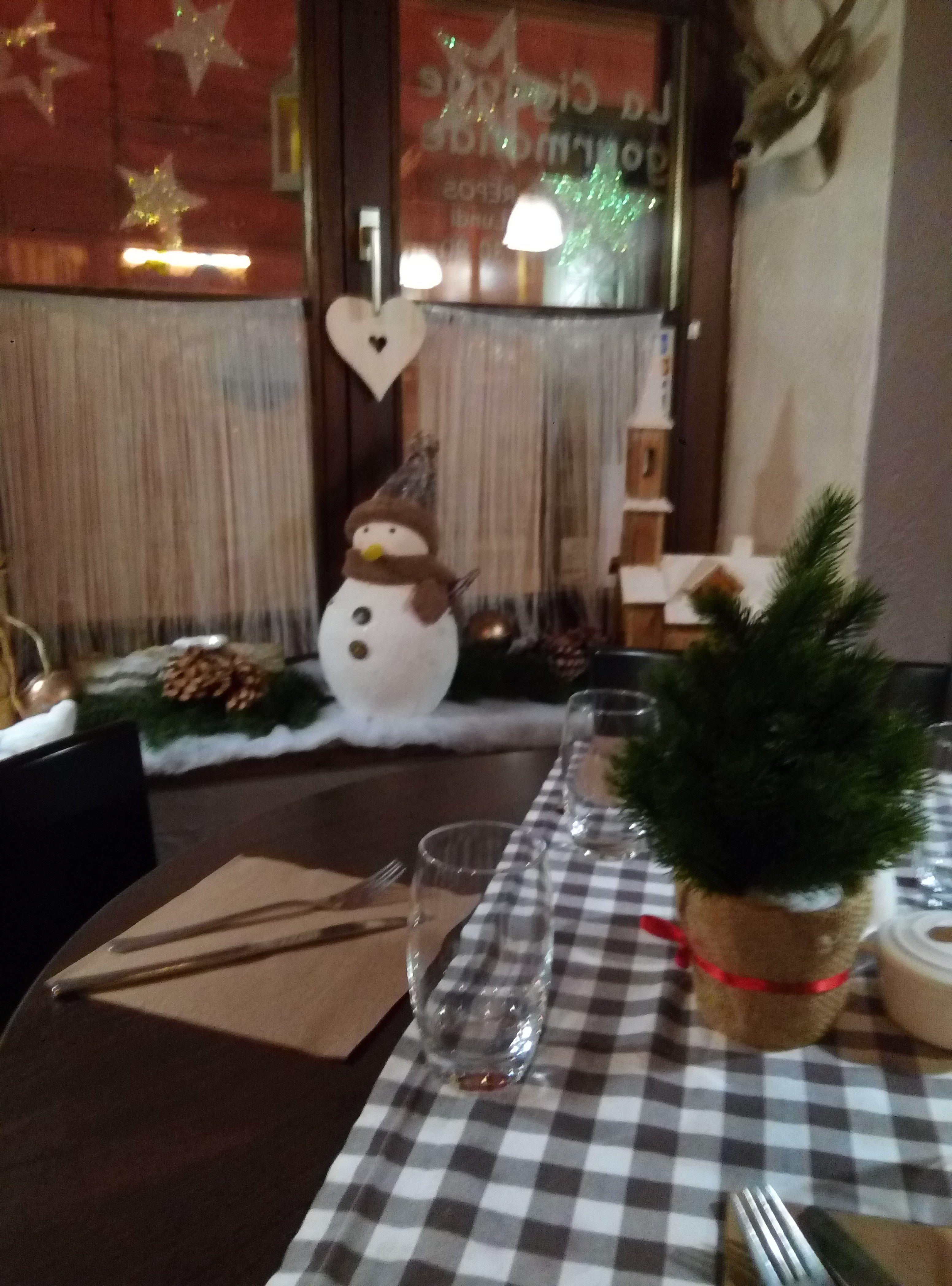 Pour finir une belle soirée direction un chouette petit restaurant.  Accueil très sympathique,