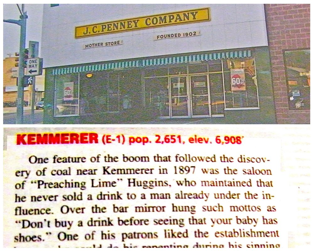 JCPenney Kemmerer Mother Store