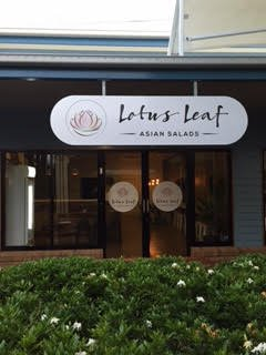Lotus Leaf Asian Salads