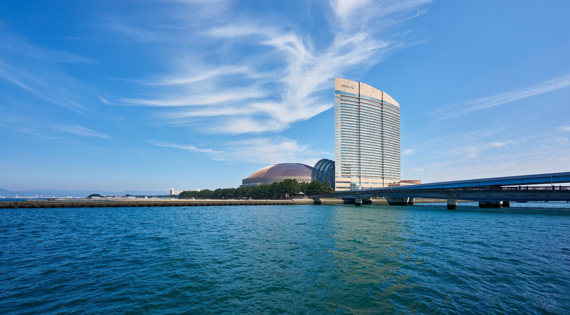 希爾頓酒店 福岡海灘浩克
