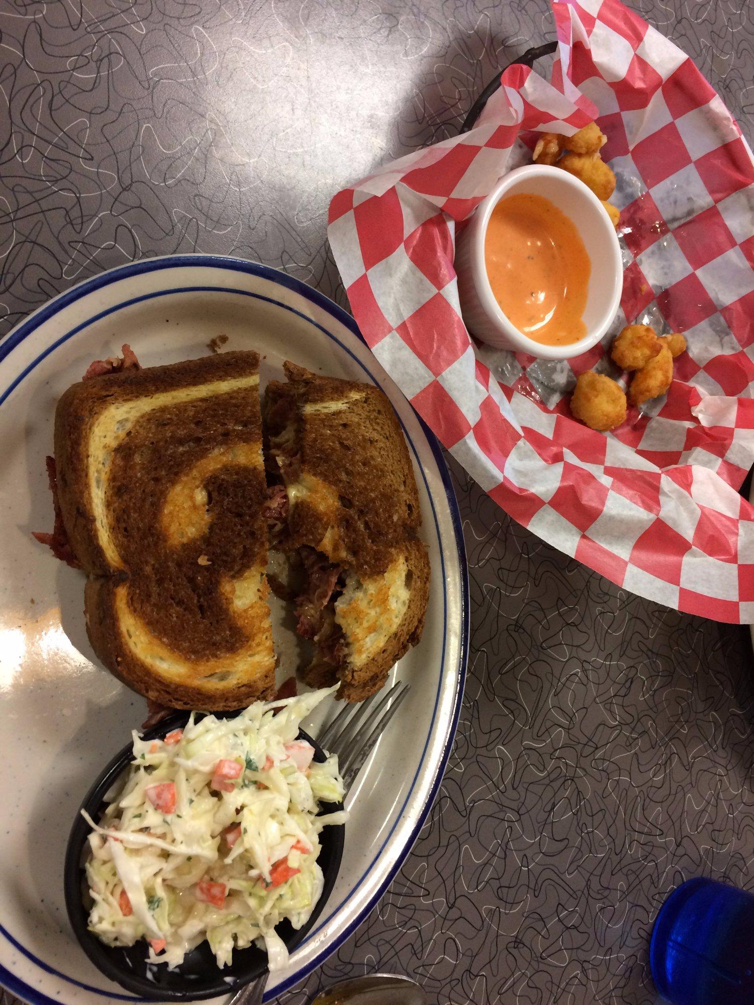 Ruben Sandwich...so so good!!!!!