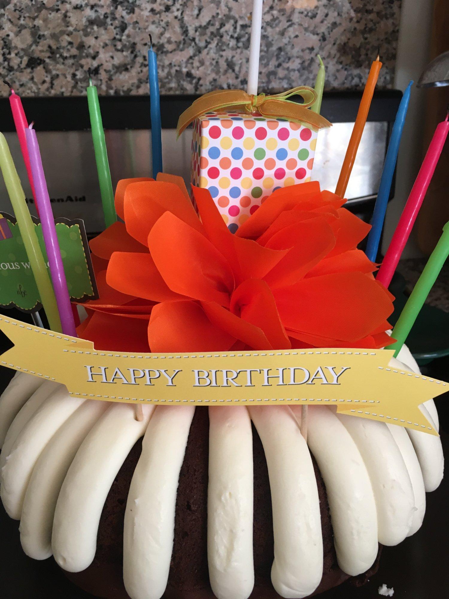 My daughter's birthday cake this year.