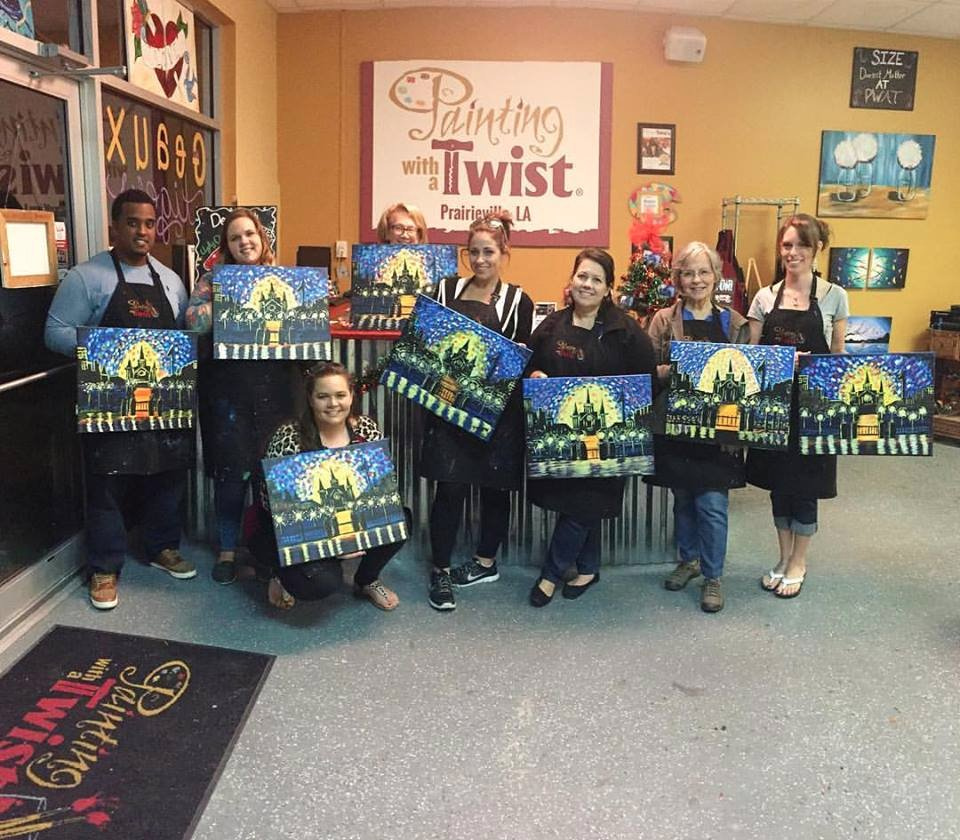 Painting with a Twist Prairieville All You Need to Know Before