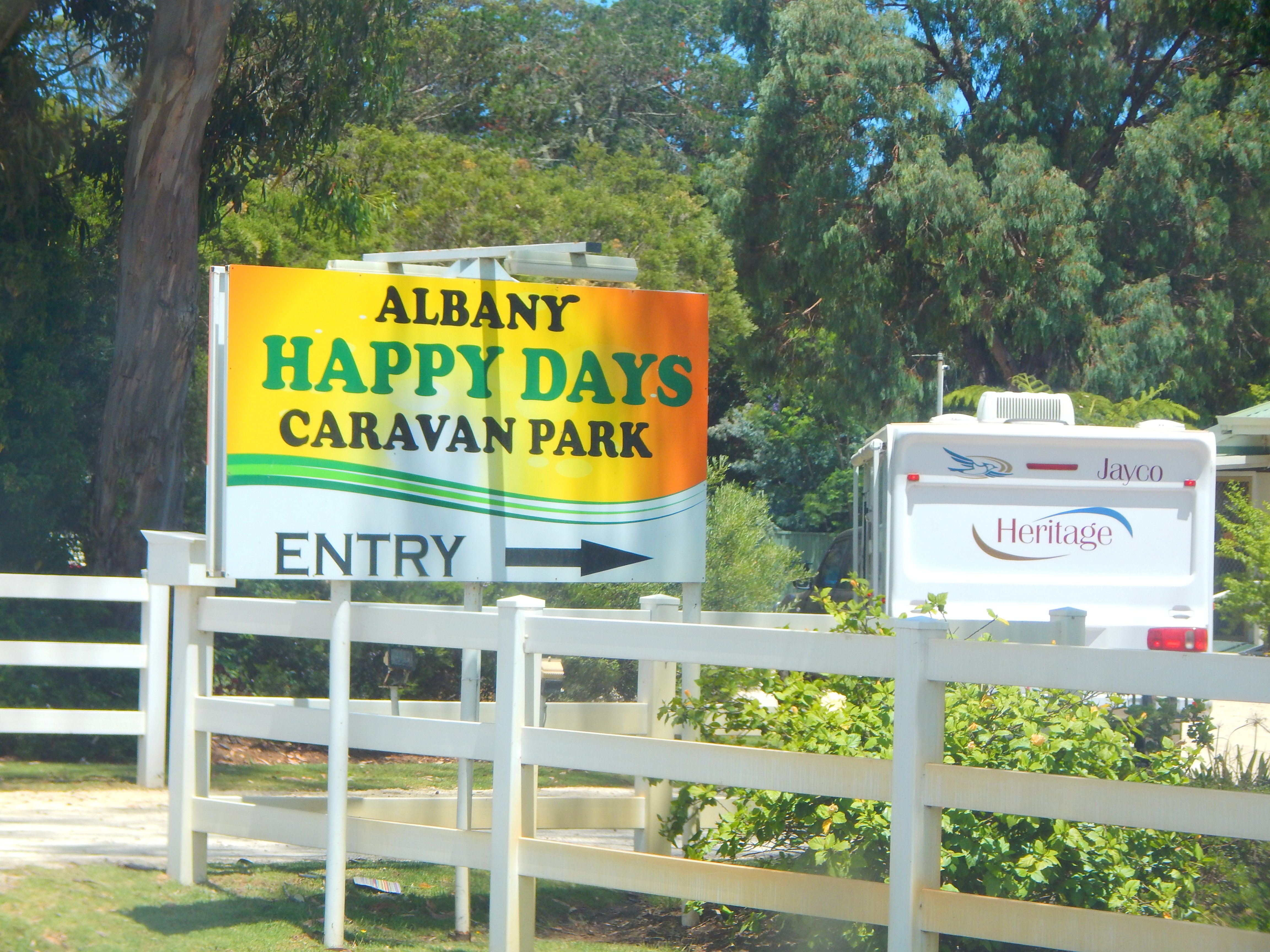 Albany's Happy Days Caravan Park