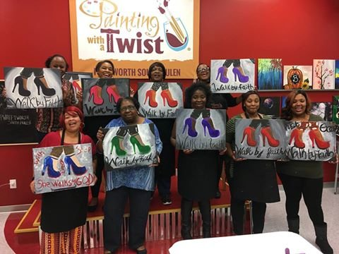 Painting with a Twist Fort Worth