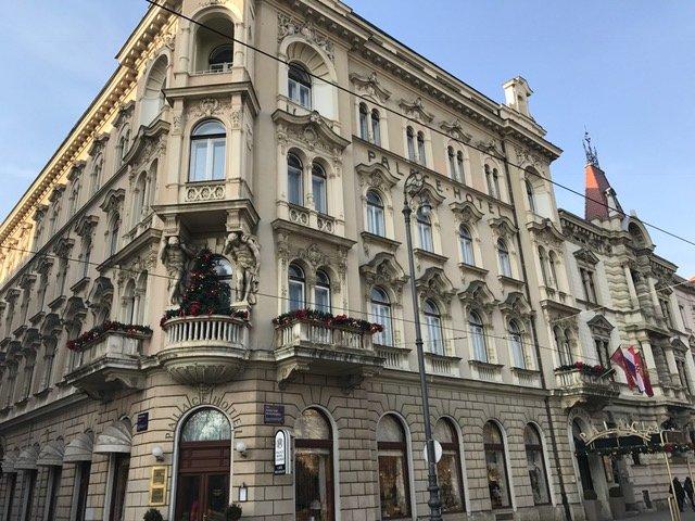 ザグレブ パレス ホテル