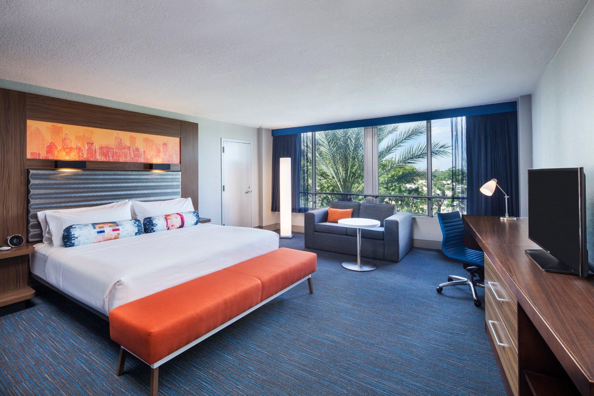 マイアミ デードランド ホテル