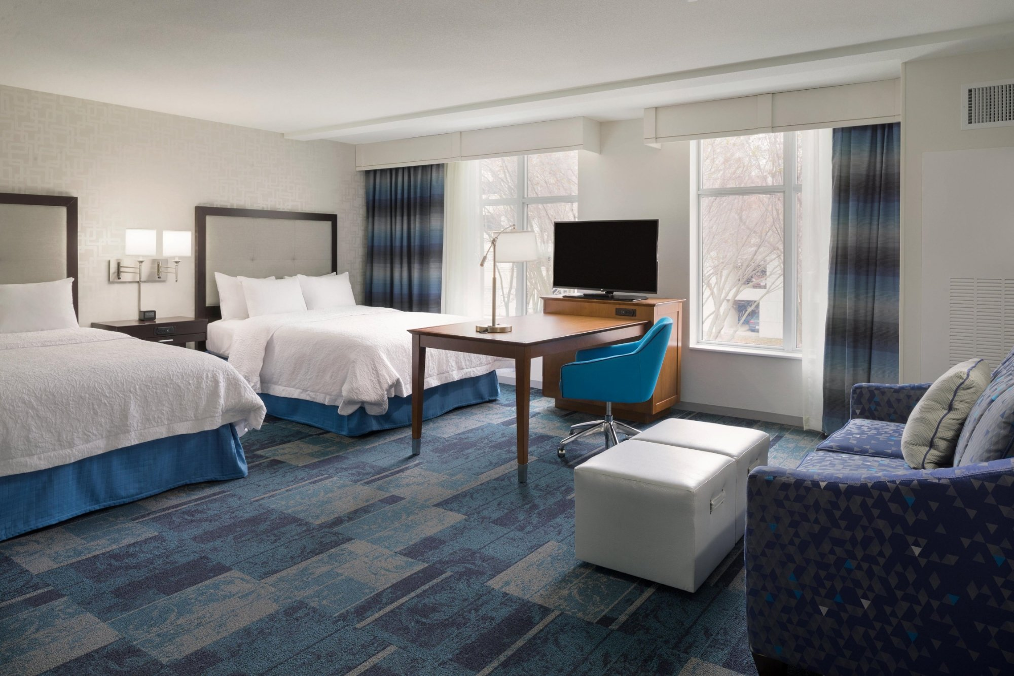 Hampton Inn  Suites Rosemont Chicago OHare UPDATED  Prices - Chicago map rosemont