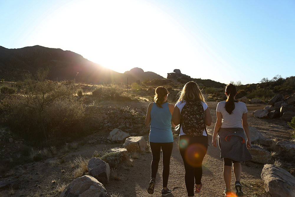 Take in a Sunset at Toms Thumb Trailhead