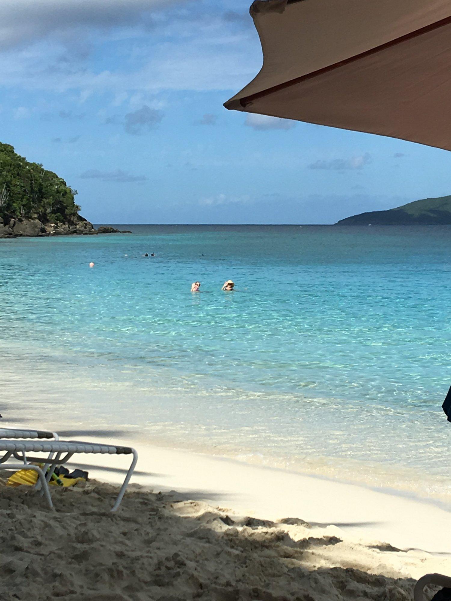 Coki Beach, St Thomas,  USVI, near the Oceanarium
