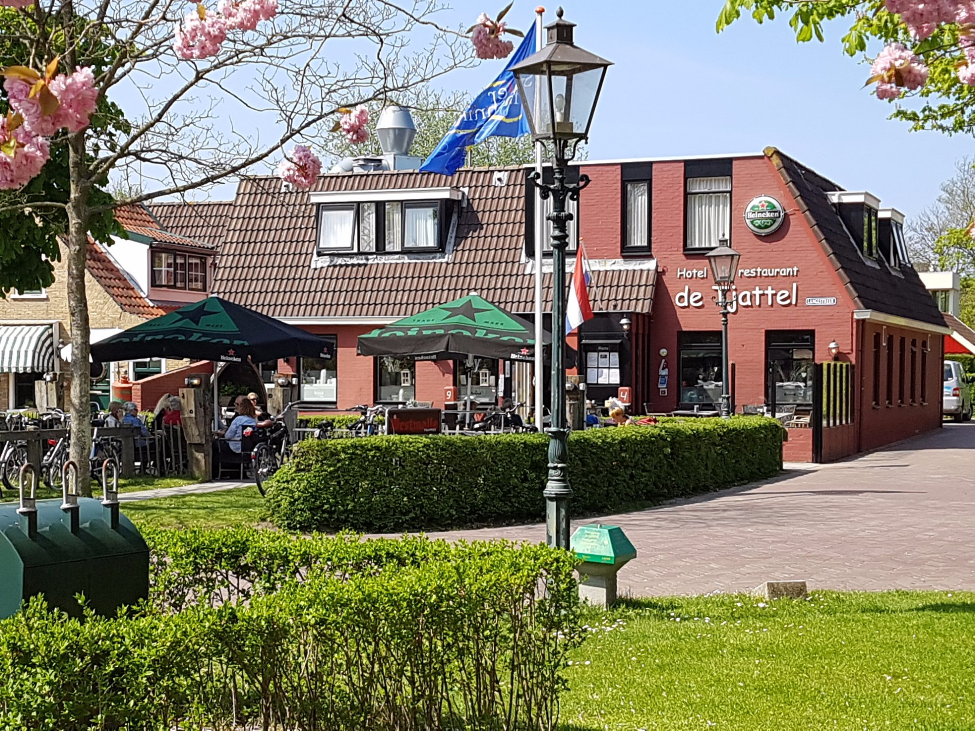 Hotel restaurant de Tjattel