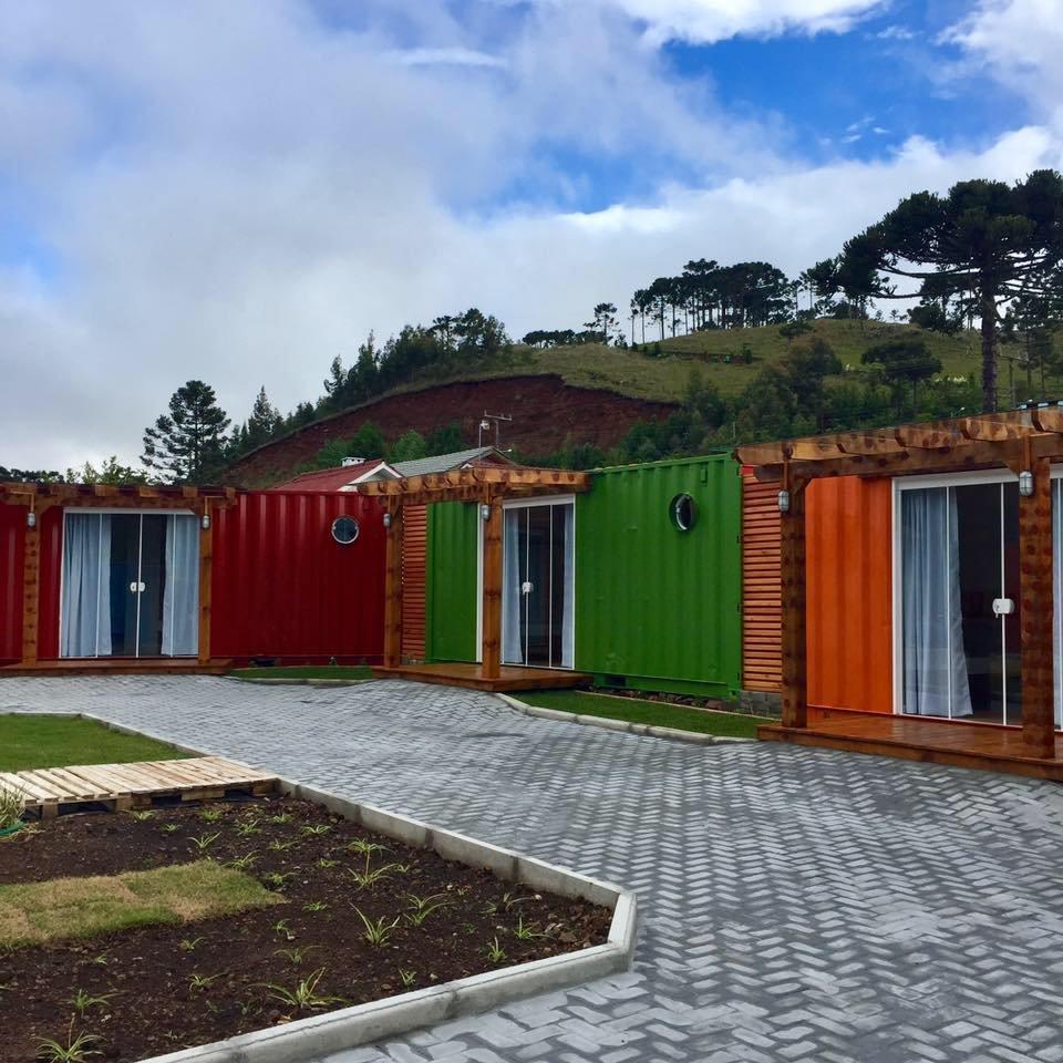 Villa Dos Ventos Hospedagem Container Bom Jardim Da Serra