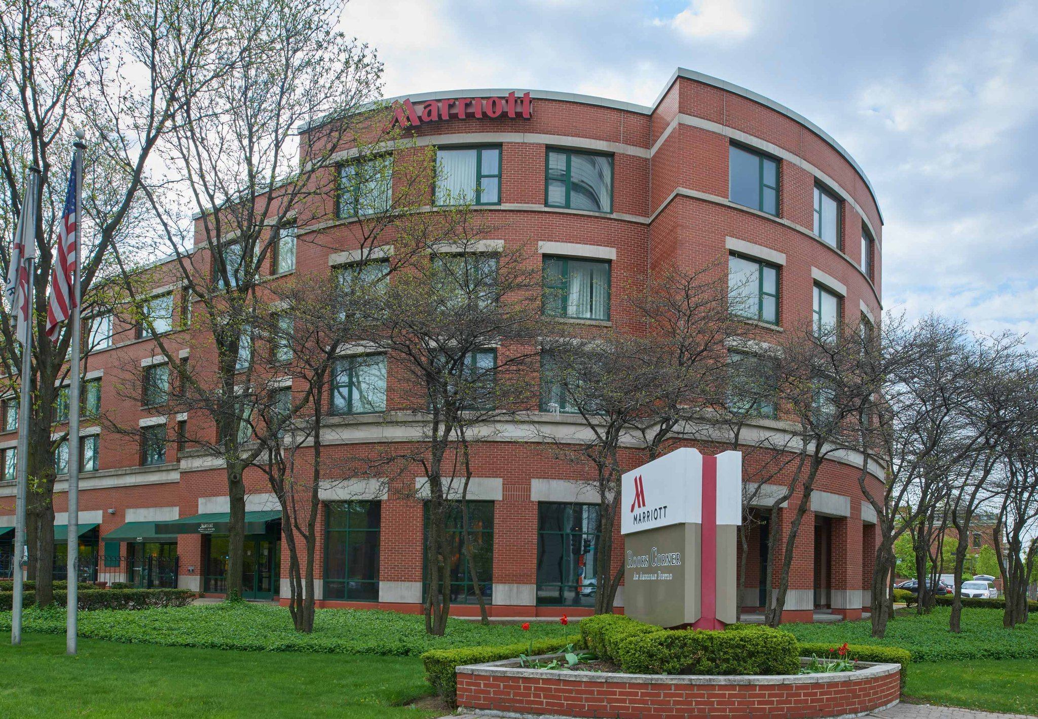 芝加哥市區醫療區萬豪酒店