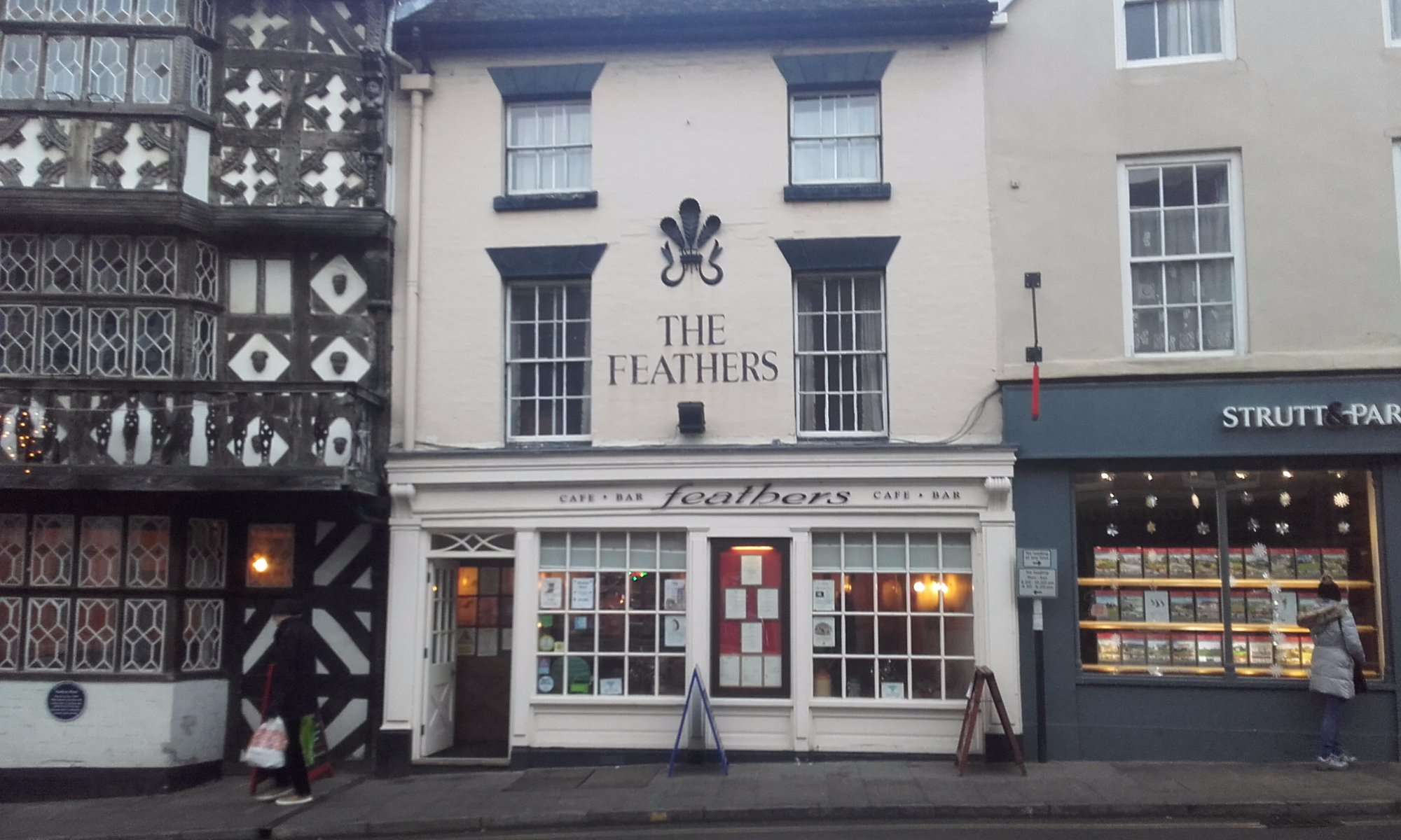 The Feathers at Ludlow