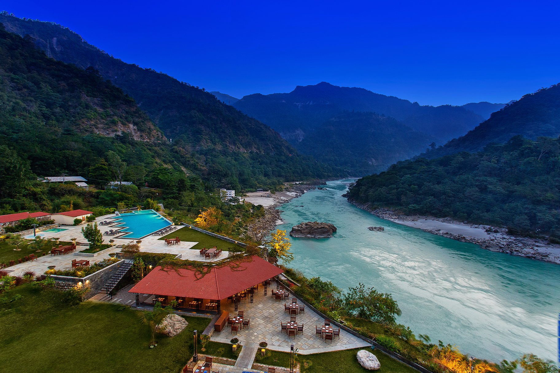 Aloha On The Ganges by Leisure Hotels