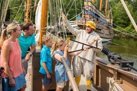 Crewing at Jamestown Settlement