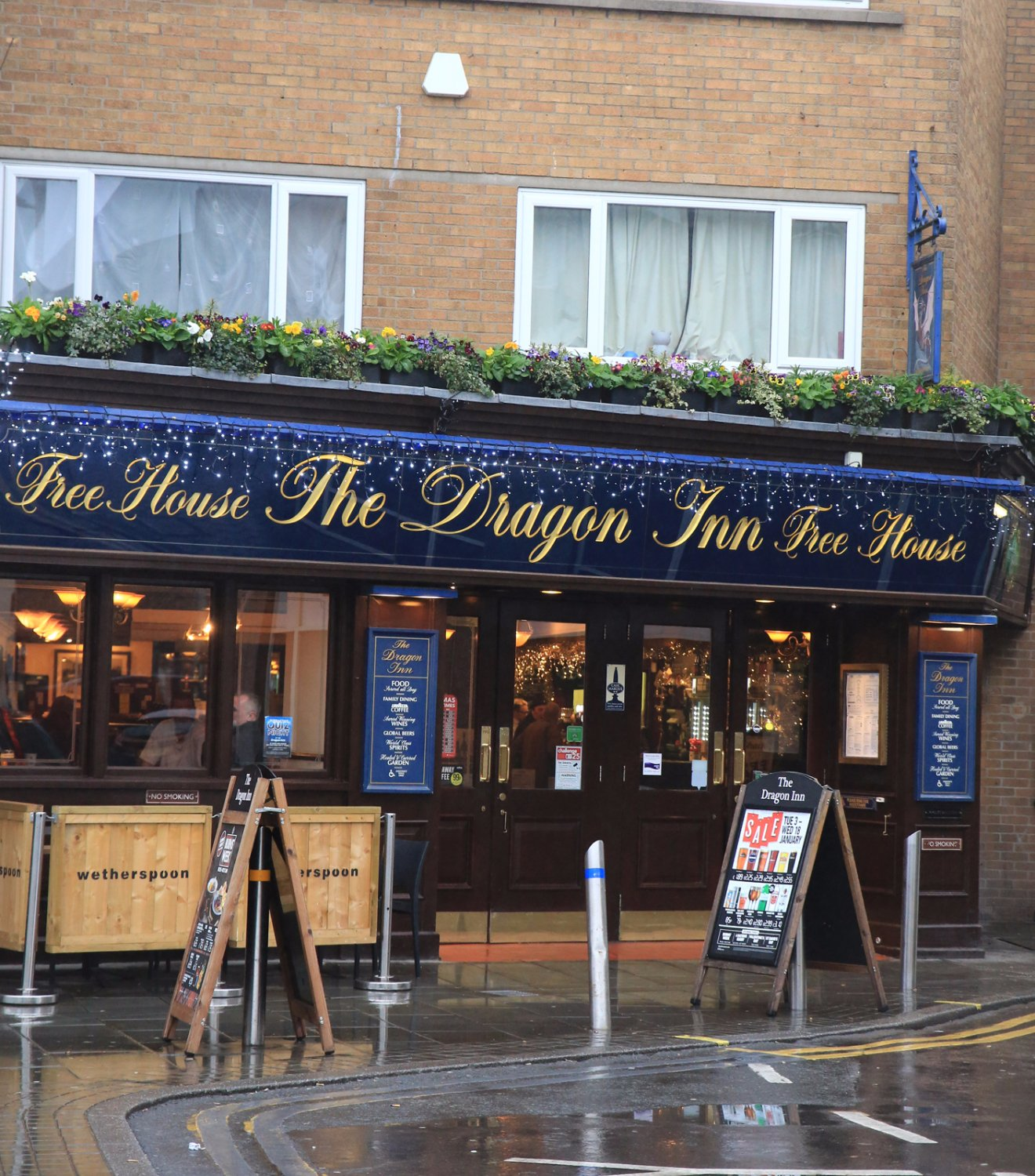 the dragon inn j d wetherspoon weston super mare restaurant