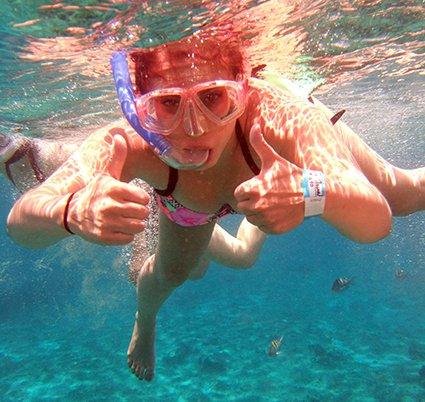 Safe Snorkeling Cozumel