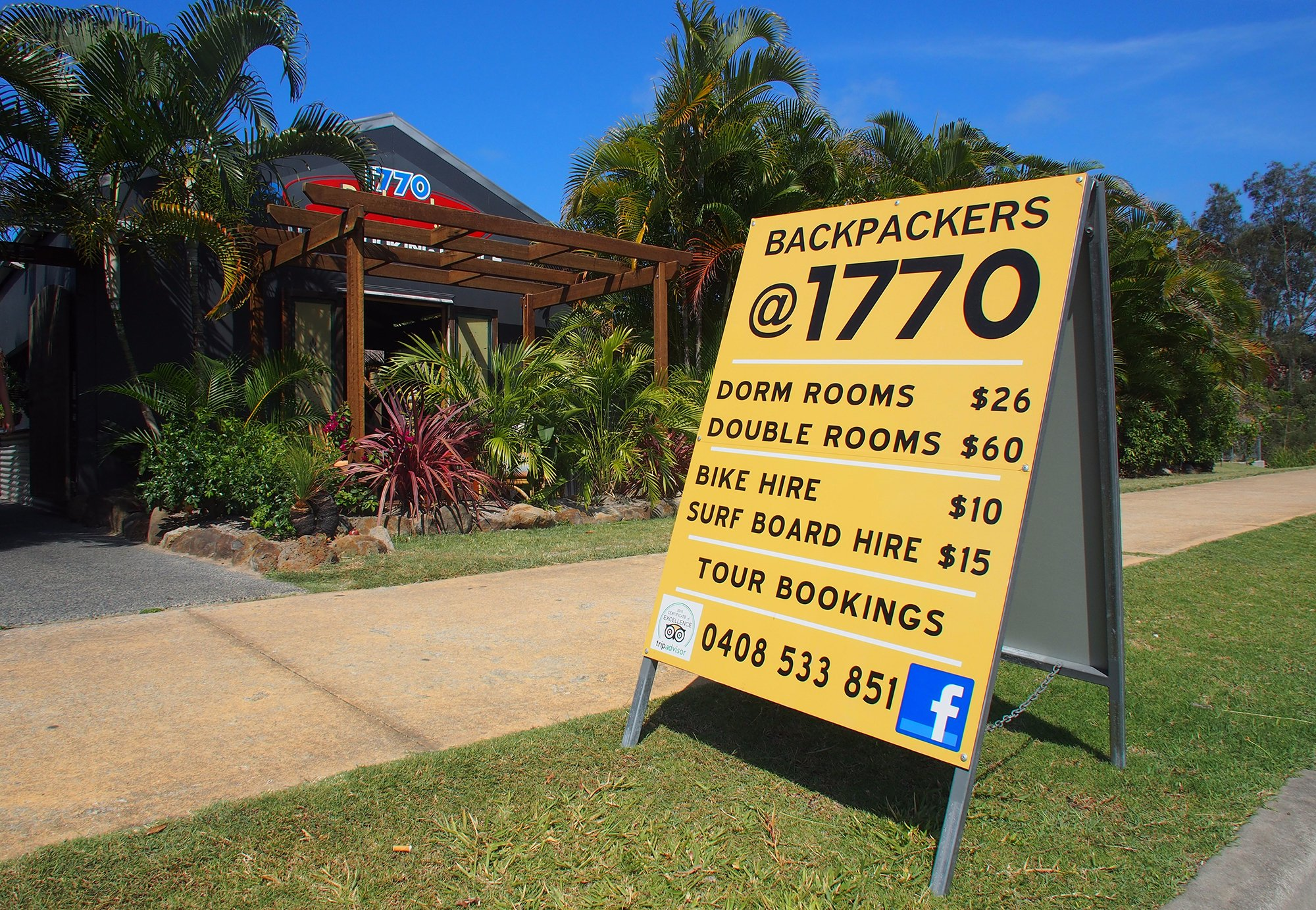 Backpackers @ 1770