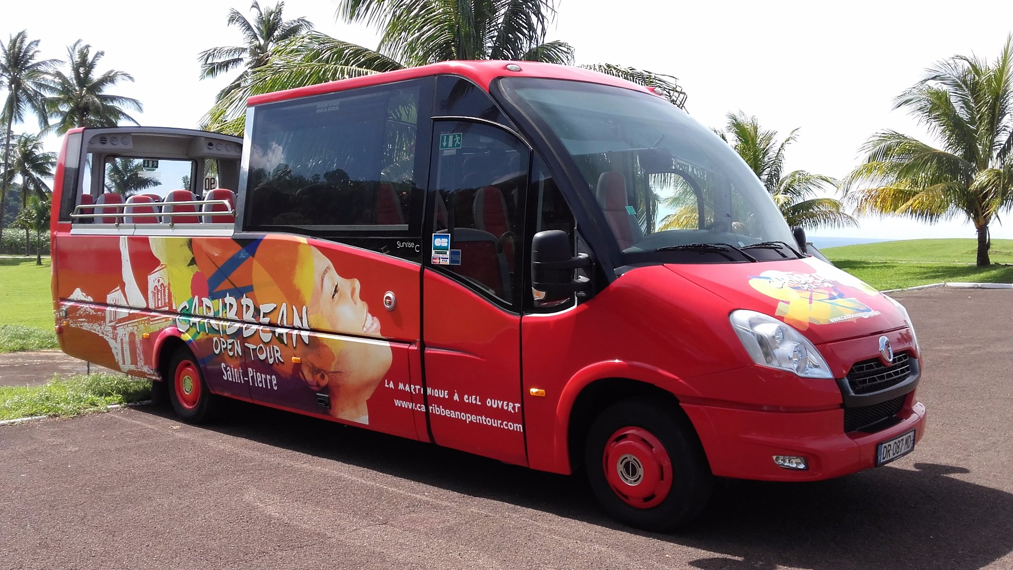 Caribbean Open Tour Open Top Coach Sightseeing Discover Martinique