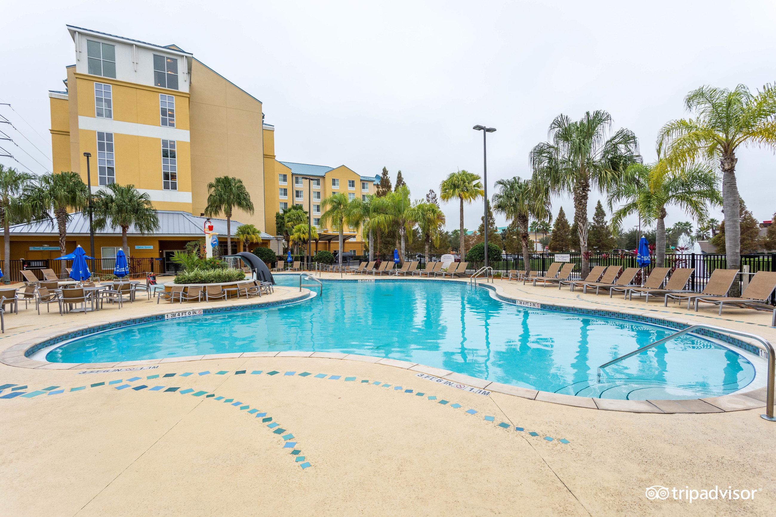 Fairfield Inn & Suites Orlando at SeaWorld FL 2018 Hotel Review