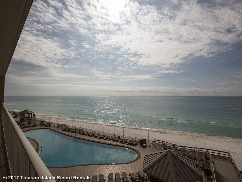 The view from one of our 3 bedroom condominiums at Treasure Island Resort Rentals!
