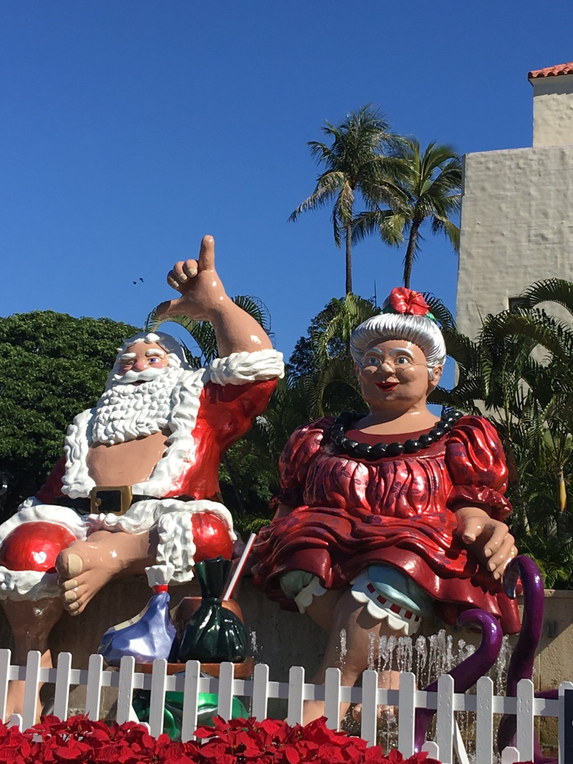 Oahu is all about Christmas and making the holiday very culturally rich