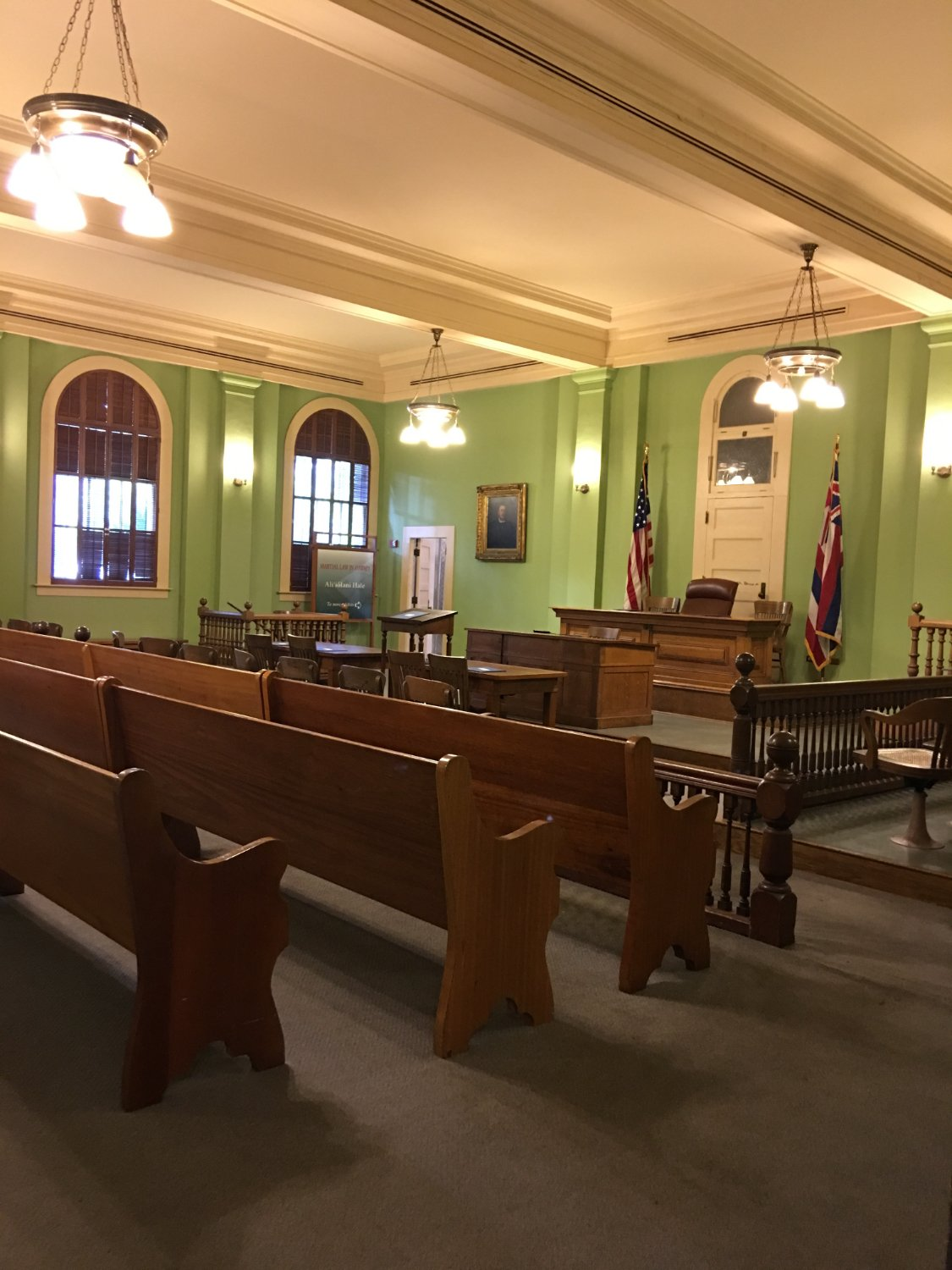 The Hawaii Courthouse, Must See for educational value