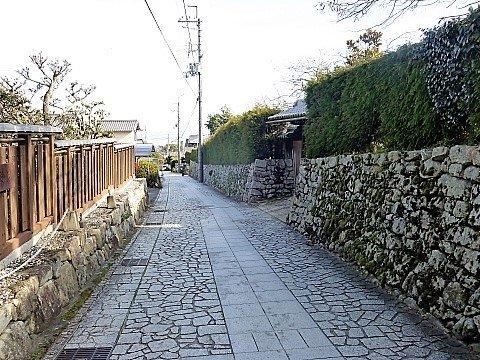 Stone Walls Temple Town Sakamoto