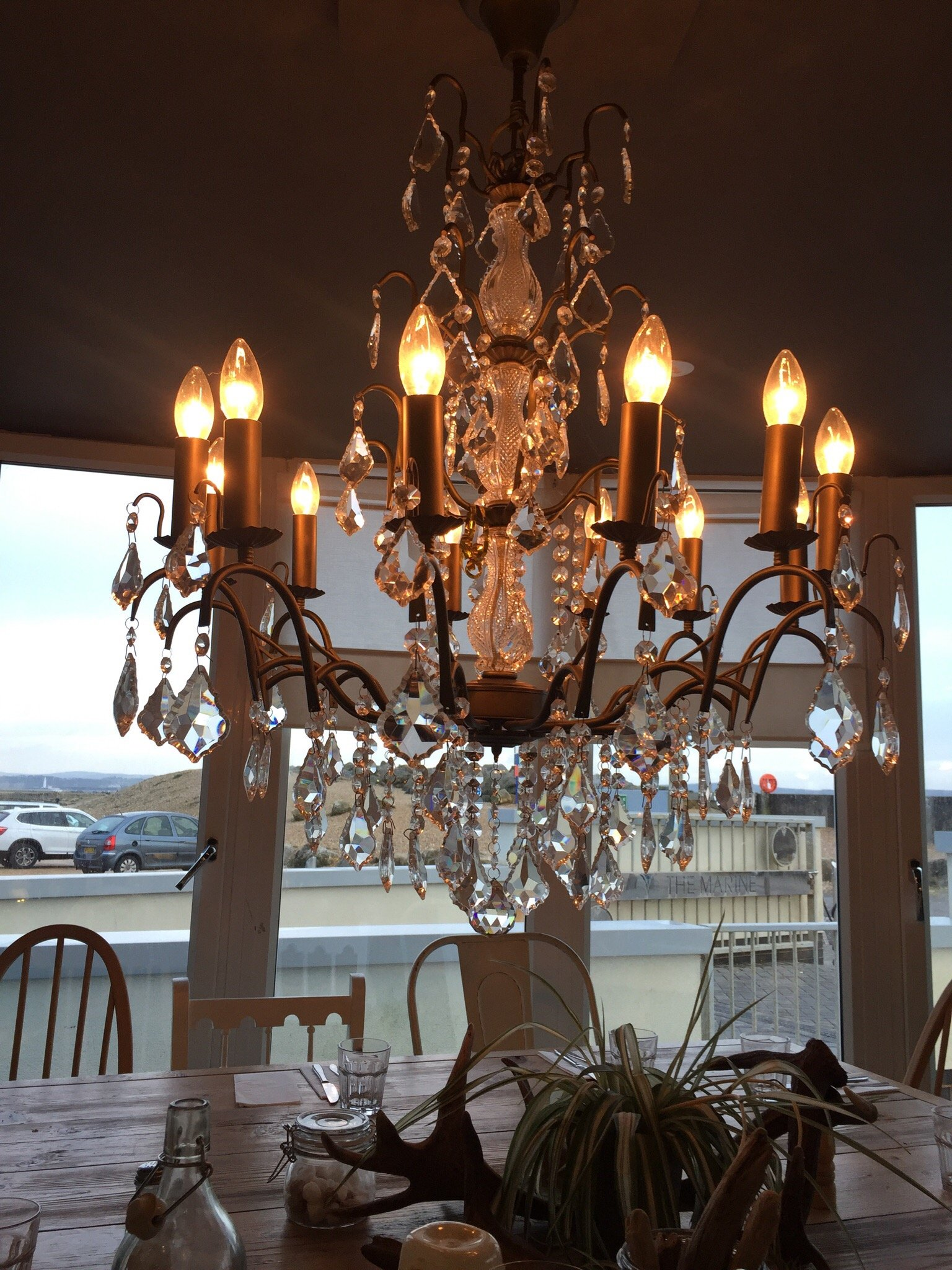 The Marine Cafe Brasserie & Bar, Milford on Sea - Restaurant ...