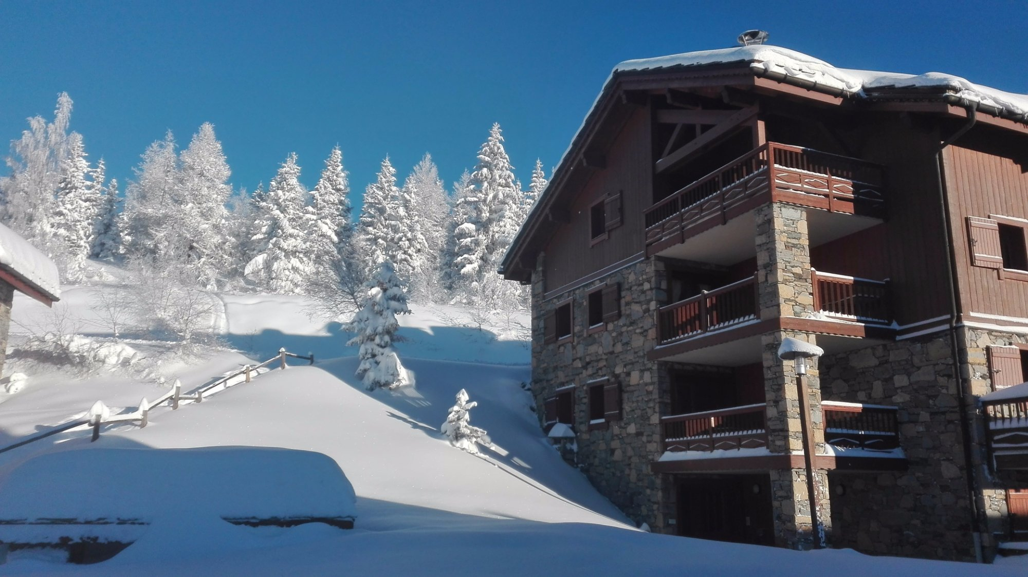 Residence CGH les Cimes Blanches - La Rosiere 1850