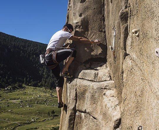 The Cortals Aventura Rock Wall