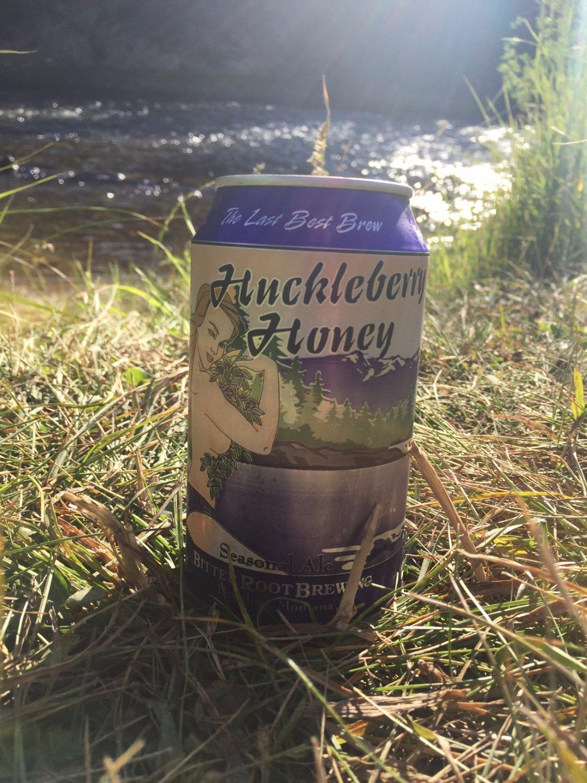 Huckleberry Honey riverside!