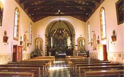 Vista frontale della chiesa - dal sito della Diocesi