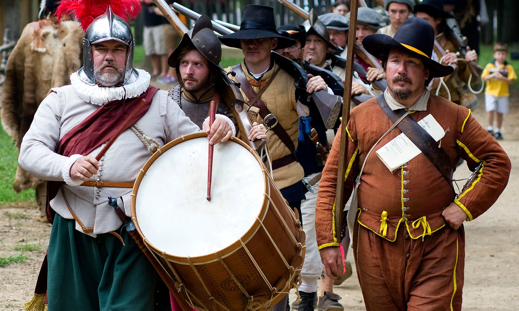 Travel back in time to the Citie of Henricus.