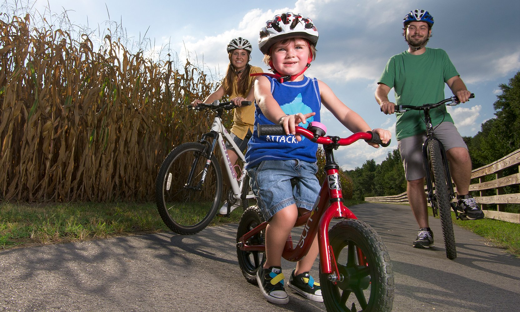 Bike, run or walk 400 years of history on the Virginia Capital Trail.