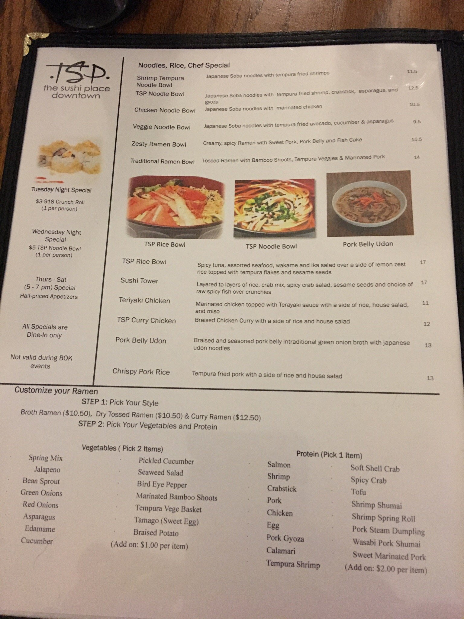 The sushi place tulsa menu prices restaurant reviews for Asian cuisine tulsa menu
