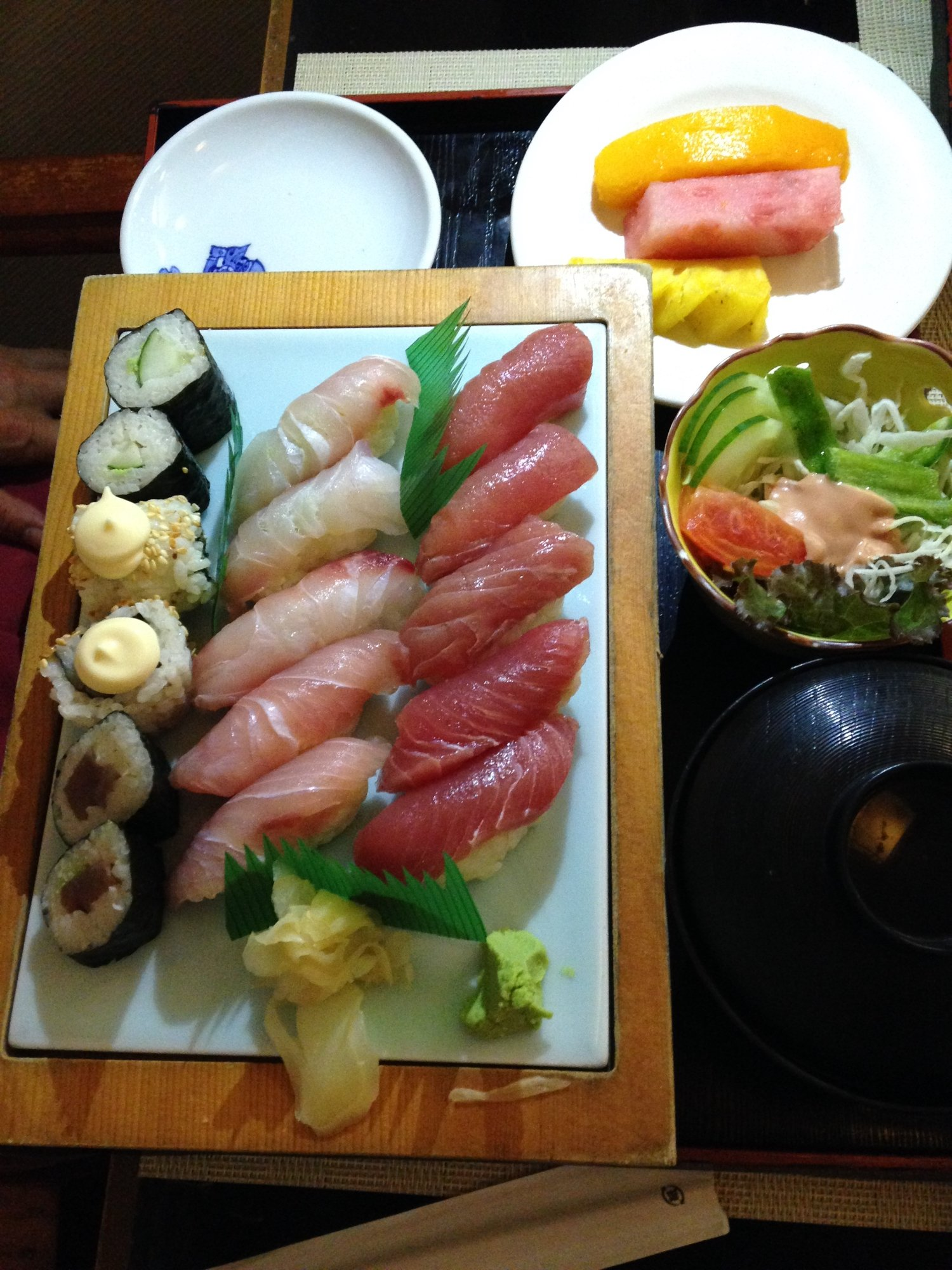 Hakubai japanese restaurant honiara restaurant reviews for Asian cuisine athens al