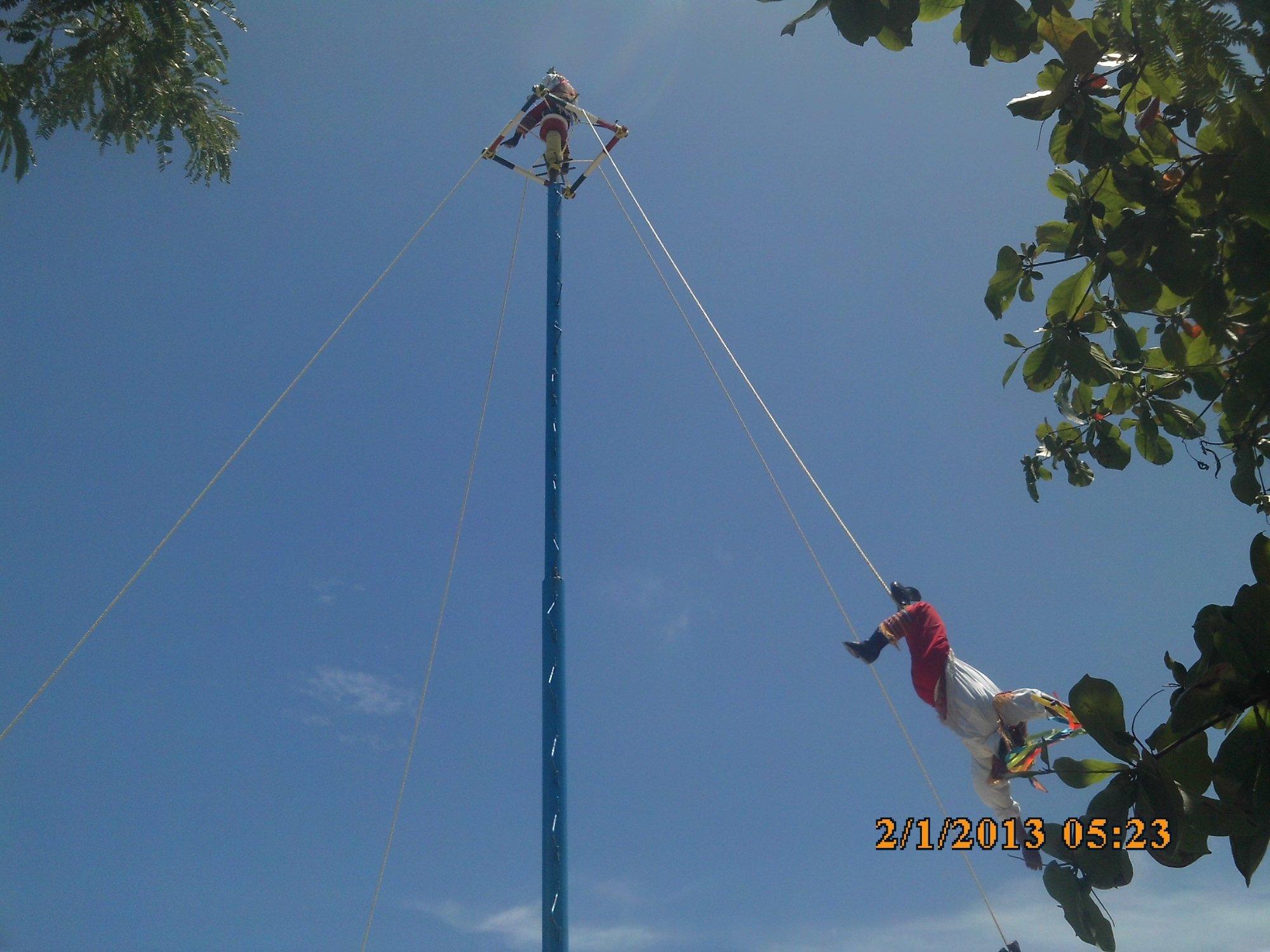 Expectaculo en Playa del Carmen