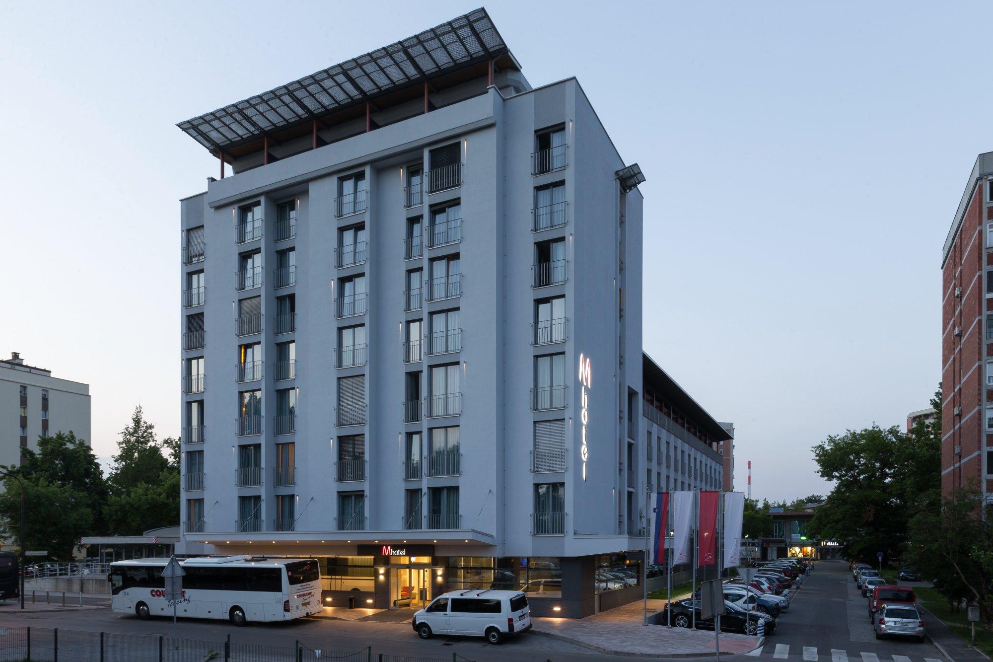 リュブリャナ M ホテル