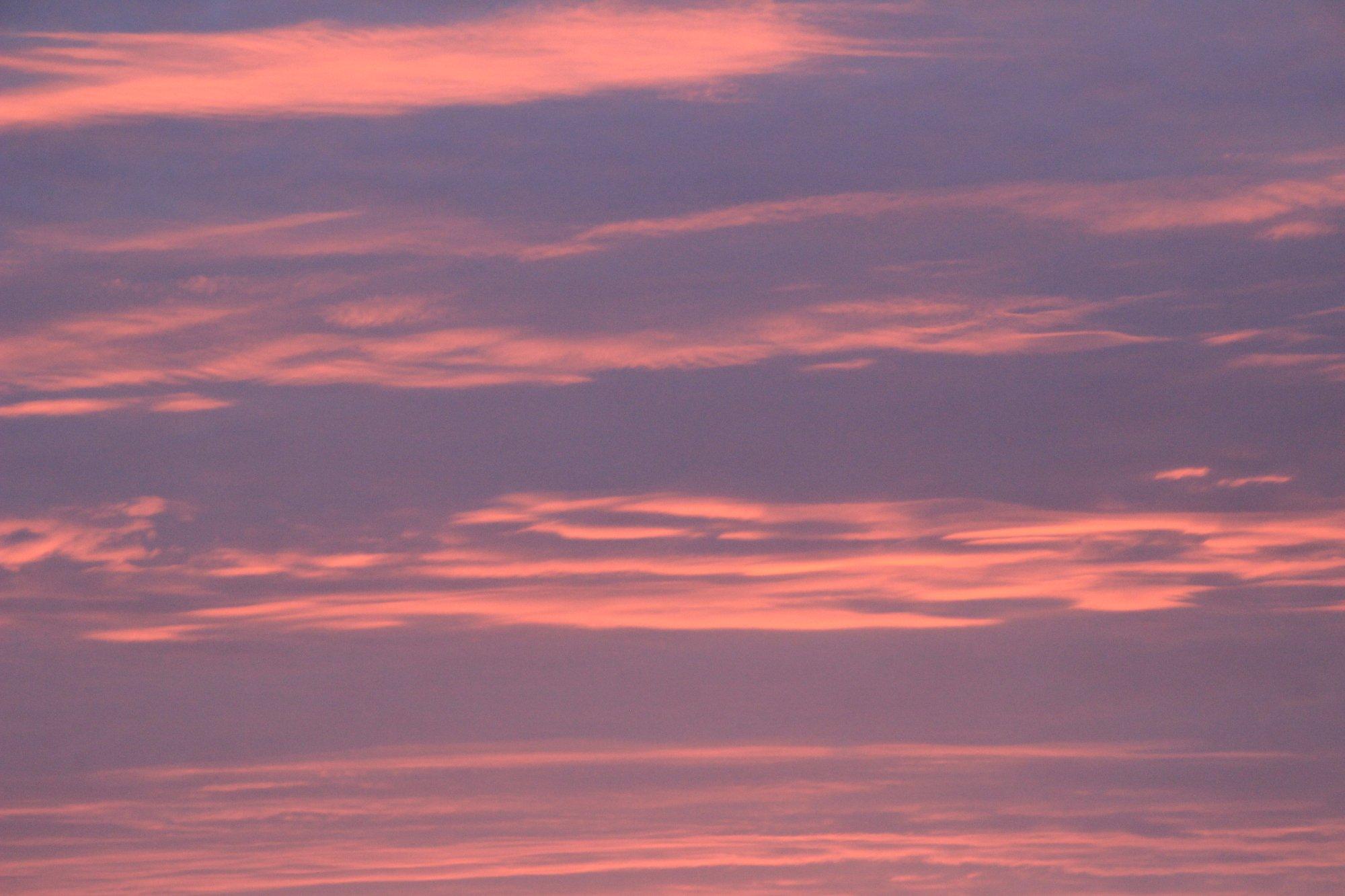 Todos los dias mirar ese cielo rojizo unico!