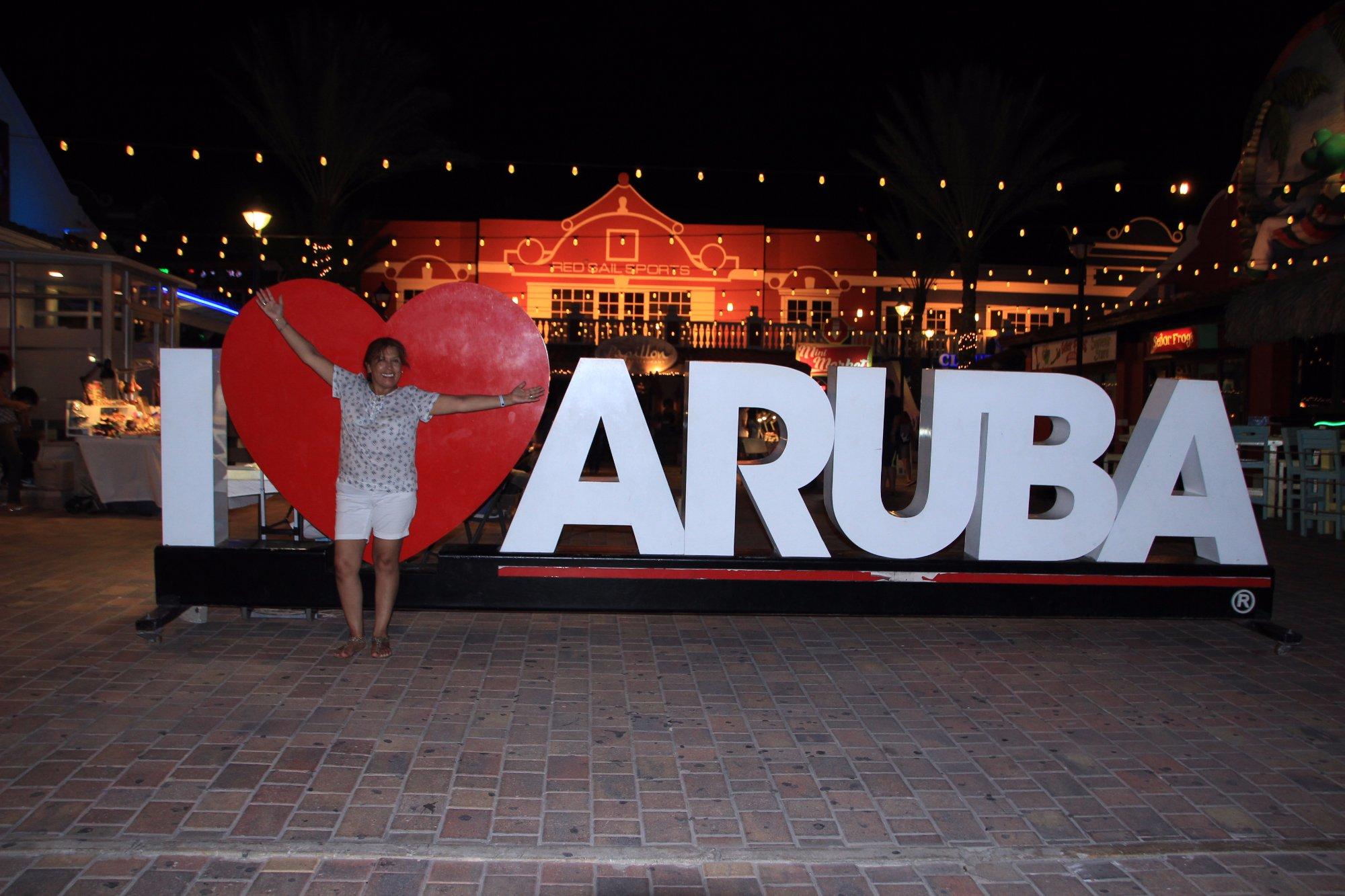 Esta foto no tiene que faltar si vas a Aruba