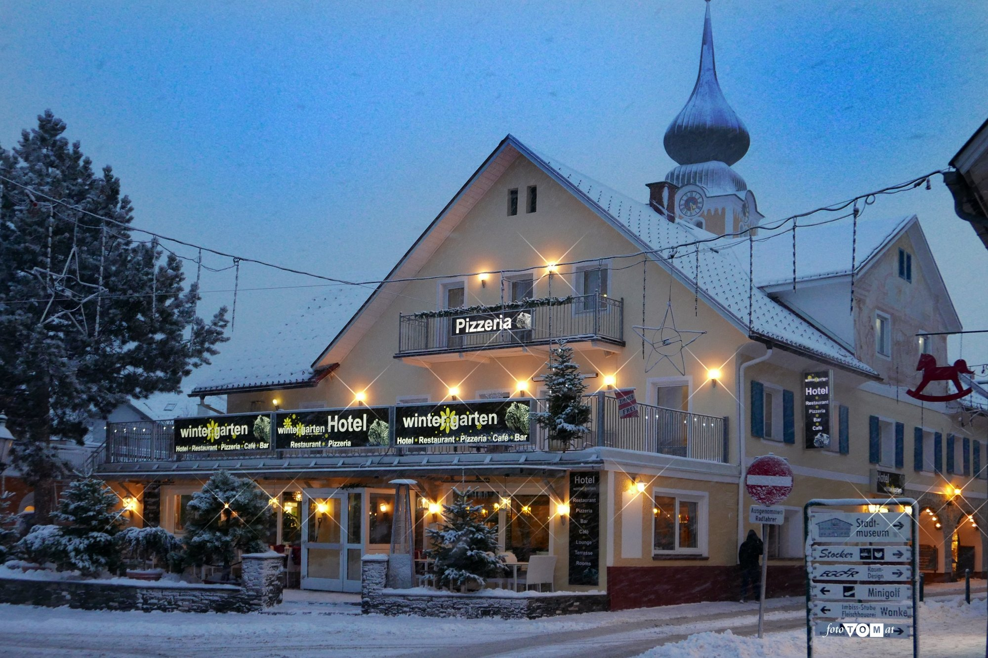Hotel – Pension Wintergarten