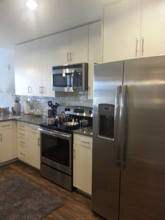 Element Music Row Apartments 1 bedroom 608 Kitchen