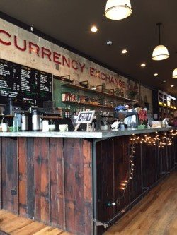 Currency Exchange Cafe