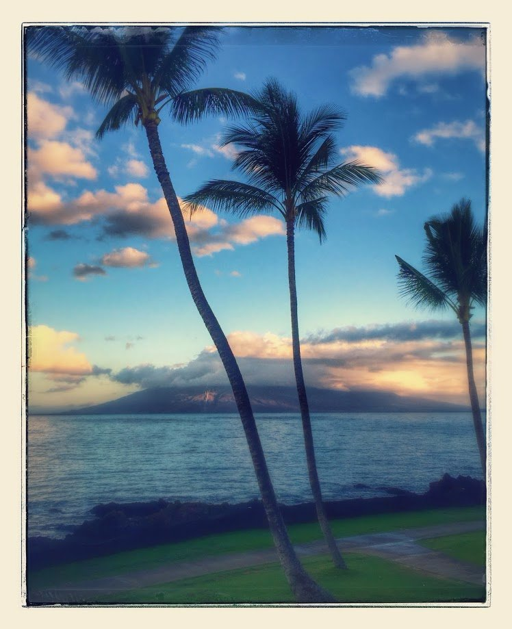 This is the view from our balcony room ( 2nd floor) of the Marriott Resort in Maui . BEAUTIFUL