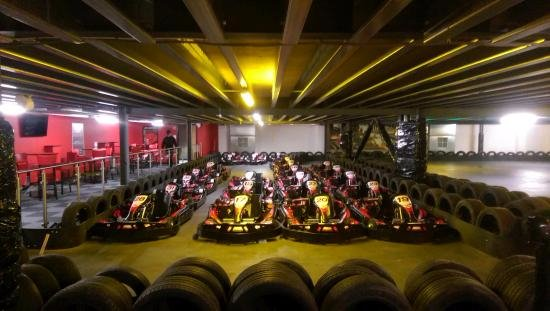 ‪TeamSport Indoor Go Karting Sheffield‬