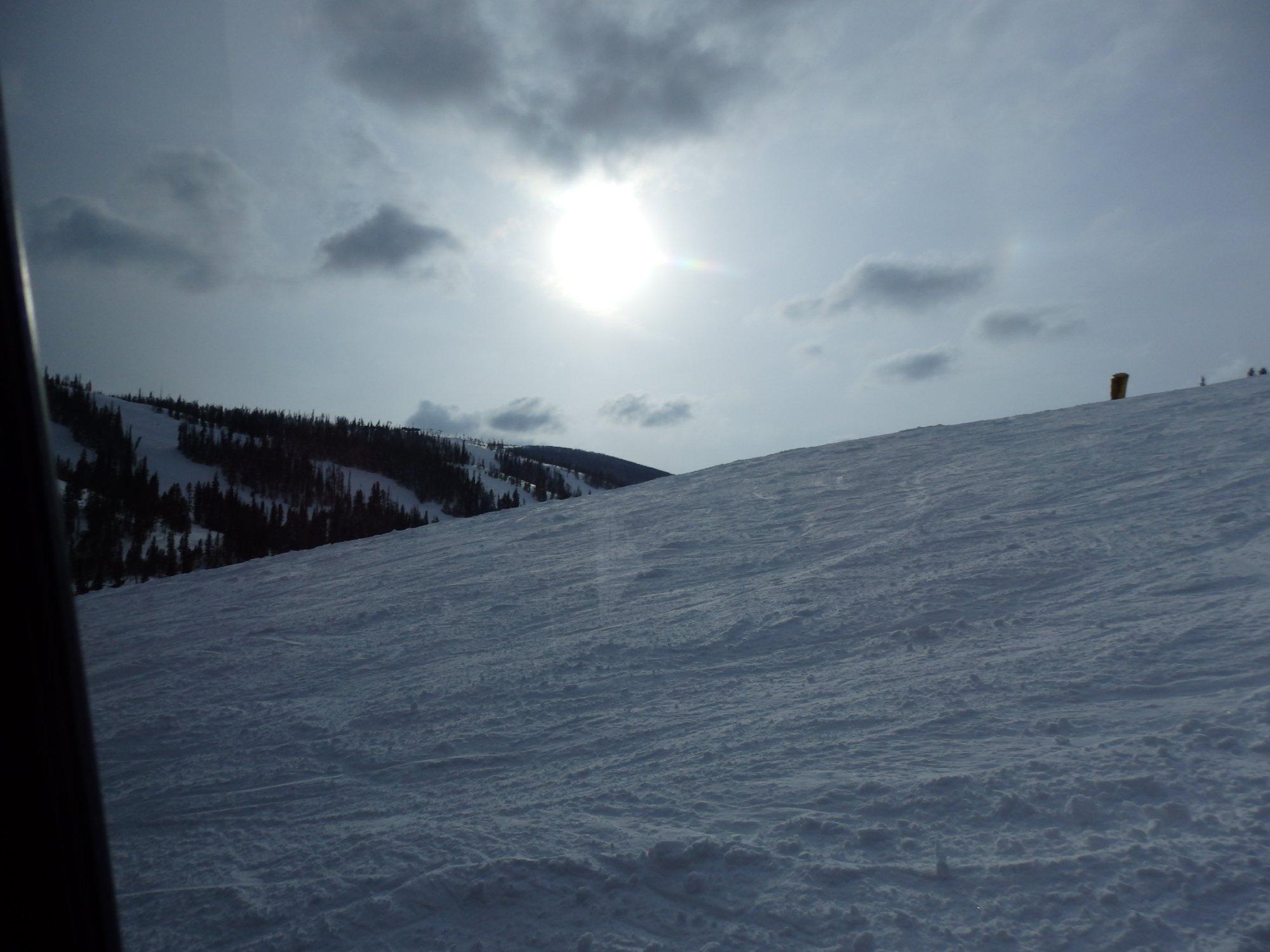 10000 feet up at Winter Park