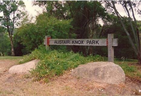 Alistair knox park
